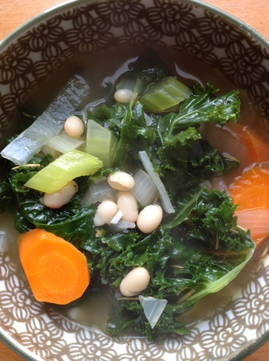 kale and rosemary soup