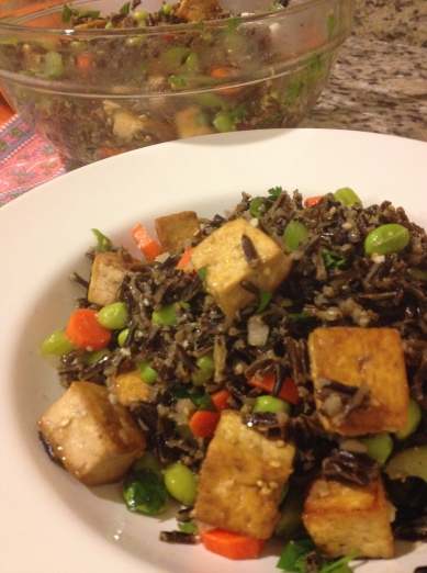 wild rice and tofu2