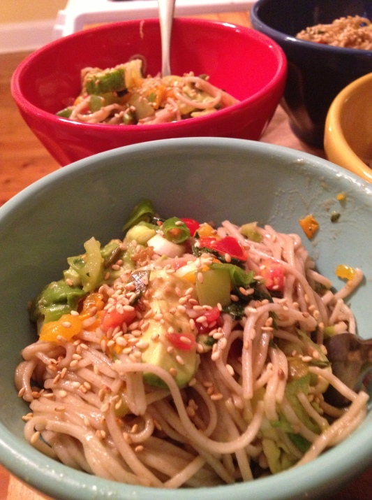 Summer Soba Noodles
